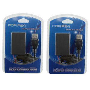 2Pc Replacement Battery for Sony PS4 Dualshock 4 Controller CUH-ZCT1E, CUH-ZCT1U
