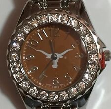 New Texas Longhorns Ladies Watch, Bracelet, Metal, Crystal Gift for Her Mom