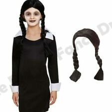 CHILDRENS KIDS GIRLS SCARY DAUGHTER FANCY DRESS COSTUME HALLOWEEN HORROR ADD WIG