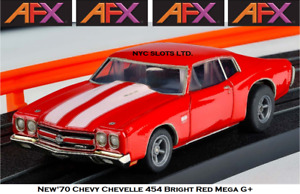 New AFX '70 Chevy Chevelle 454 Mega G+ Fits Auto World, HO Slot Car AFX 22043