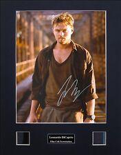 Leonardo DiCaprio Signed Film Cell Presentation