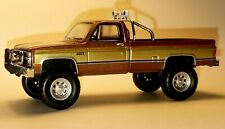 1982 82 CHEVY 4x4 GMC K-2500 SQUAREBODY COLLECTIBLE PICKUP TRUCK -Brown