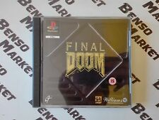 FINAL DOOM *SPARATUTTO FPS* SONY PS1 PS2 PS3 PSX PLAYSTATION 1 2 3 ONE COMPLETO