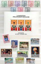 MADAGASKAR (MALAGASY) -  Sammlung postfrischer Briefmarken