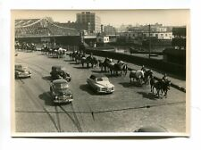 Vintage Photo Ringling Bros Ci 00004000 Rcus Animal Parade Willis Ave Bridge Ny horses 1