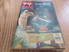 VINTAGE - 4/1/1978 - TV GUIDE - THIS YEAR WINNERS - BASEBALL  - COVER