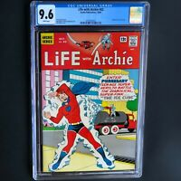 LIFE with ARCHIE #42 (1965) 💥 CGC 9.6 💥 HIGHEST GRADED! Pureheart Cover