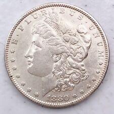 1880 MORGAN SILVER DOLLAR 90% SILVER $1 COIN US #L28