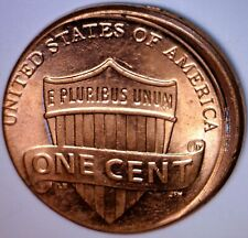 2015 ERROR OFF CENTER Lincoln Cent Uncirculated / BU + O/C Coin #6   NR