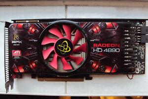 XFX Radeon HD 4890 Graphics Card 1GB GDDR5