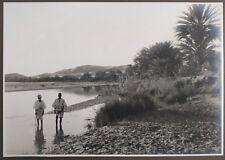 ✒ CROISIERE NOIRE CITROEN photographie originale Oasis Beni Abbès ALGERIE 1924