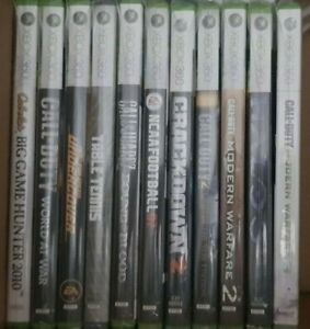 Xbox 360 Games Lot - You Pick - Inspected, Cleaned, Tested