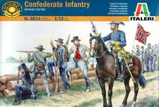 Italeri 6014 1/72 Scale Model Kit American Civil War Confederate Troops Soldiers
