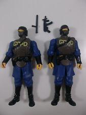 DC Universe Infinite Heroes CRISIS police Gotham City SWAT loose figure GCPD lot