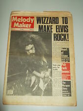 MELODY MAKER 1973 MAY 5 WIZZARD BEES MAKE HONEY SLY STONE THE MARQUEE