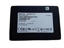 """Micron 5100 Eco 3.84TB SATA SSD 2.5"""" 7mm 3D eTLC NAND 3840GB 4TB MTFDDAK3T8TBY"""