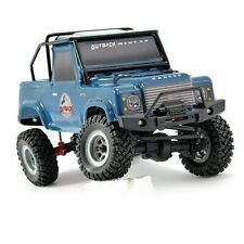FTX Ftx5507db Outback Mini 2 4wd Scaler 1 24 RTR With Lights Blue Dark Modeling
