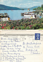 1970's LAKE WINDERMERE FROM BOWNESS CUMBRIA LAKE DISTRICT COLOUR POSTCARD