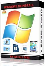 Windows Vista Installation Install BOOT Disc-All Versions  (32 / 64 bit)