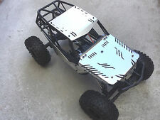 Aluminum Body Panel Kit for 1/10 Axial Wraith Silver