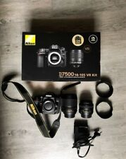 Nikon D7500 20,9 Mpix Appareil Photo Reflex Numérique - Noir .