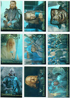 LORD OF THE RINGS RETURN OF THE KING SET OF 10 FOIL CARDS