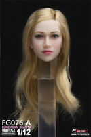 Fire Girl Toys FG076 1/12 European Feamle Head Carving Anna Head Model F 6'' Toy