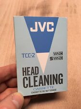 JVC TCC-2 VHSC SVHSC Camcorder Head Cleaning Cassette Tape Video Camera