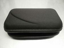 Black Hard Carry Pouch for Diabetic Glucose Meter & Acc, Organizer Carrying Case