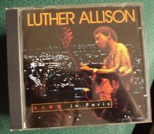 LUTHER ALLISON Live In Paris CD mid-90's blues German reissue Ruf