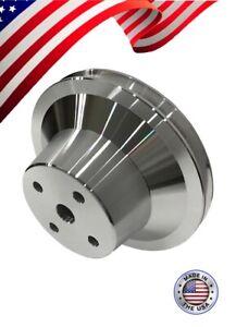 New Pontiac Water Pump Pulley V-Belt Single Groove 326 350 400 428 455