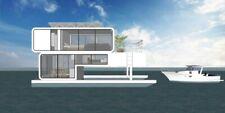 South Beach Yacht House Boat Catalog L36' X W14' Custom Designed