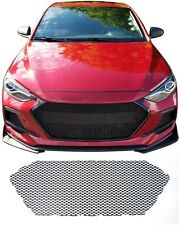 CCG FLAT BLACK PERF GT MESH GRILL GRILLE FOR A 2017-18 HYUNDAI ELANTRA SPORT