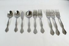 Oneida Cantata Stainless Flatware Lot 9 pcs