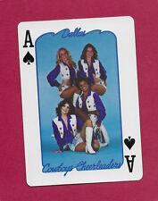 Dallas Cowboys Cheerleaders playing card single ace of spades - 1 card