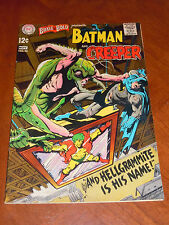 BRAVE AND BOLD #80 (1968) VF- (7.5) cond. NEAL ADAMS art The CREEPER, BATMAN