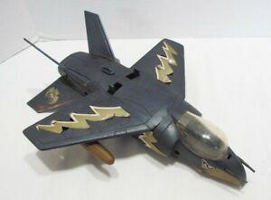 MEGO 1980's EAGLE FORCE V.T.O.L. FIGHTER PLANE JET AIRPLANE W/ 1 MISSILE BOMB