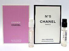 Chanel Chance Vive & No. 5 Eau Premiere for Women .06 oz 2 ml Sprays New 2 PCS