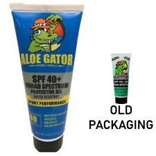 Aloe Gator 4oz SPF 40 Plus Gel Sunscreen - New Packaging