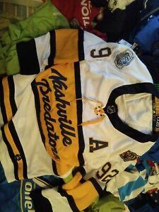 RARE jersey MEN 52 Nashville NHL 2020 CLASSIC ADIDAS HOCKEY #92 Johansen SWEDEN