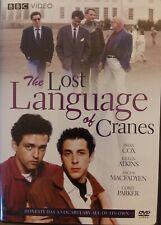 The Lost Language of Cranes Dvd Nigel Finch Brian Cox Bbc Video Region 1 LikeNew