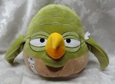 "Rare Angry Birds Large YODA Pillow 2012 Lucas Films 13"" Star Wars Stuffed Animal"
