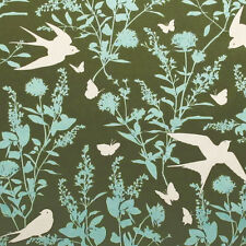 """JOEL DEWBERRY """"BUNGALOW"""" HOME DECOR SWALLOW STUDY Forest by the 1/2 yard"""