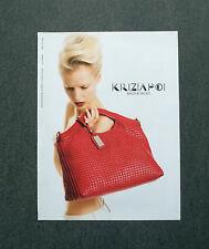 H654 - Advertising Pubblicità - 2013 - KRIZIA POI , BAGS & SHOES