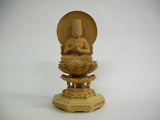 Buddhism Wood Sculpture DAINICHI NYORAI (Vairocana)