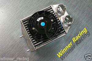 "5"" intercooler & 12V 80W Fan for Renault Super 5 GT turbo"