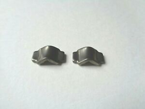 *NOS Vintage 1980s Campagnolo Aero brake lever cable guide insert plates (pair)*