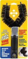 White Lightning Easy Clean Tire Brush, Black