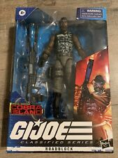 "Hasbro Gi Joe Classified Series Cobra Island Roadblock 6"" Figure"