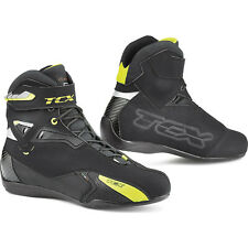 TCX Rush CE Urban Short Waterproof Motorcycle BOOTS - Black Size 11 46